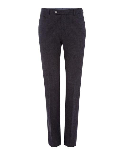 Richard James - Multicolor Mens Brushed Cotton Check Slim Trouser for Men - Lyst