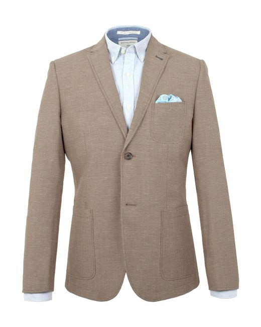 Racing Green - Brown Andres Puppytooth Blazer for Men - Lyst