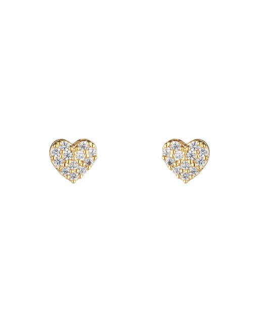 Estella Bartlett | Metallic Eb1417c Heart Earrings | Lyst