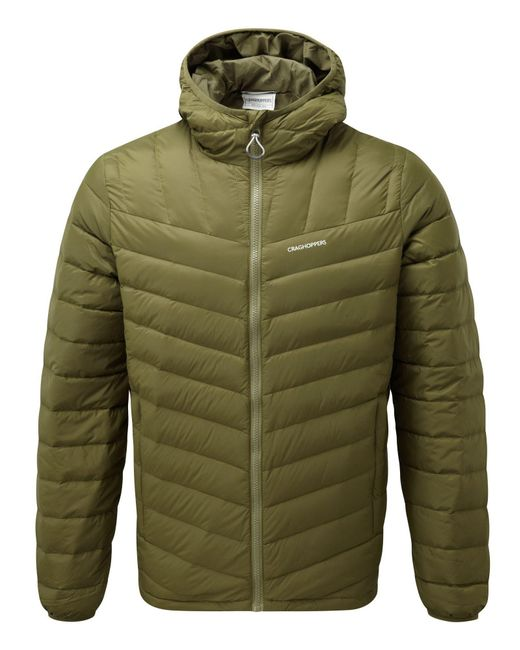Craghoppers | Green Men's Brompton Natural Down Insulating Jacket for Men | Lyst