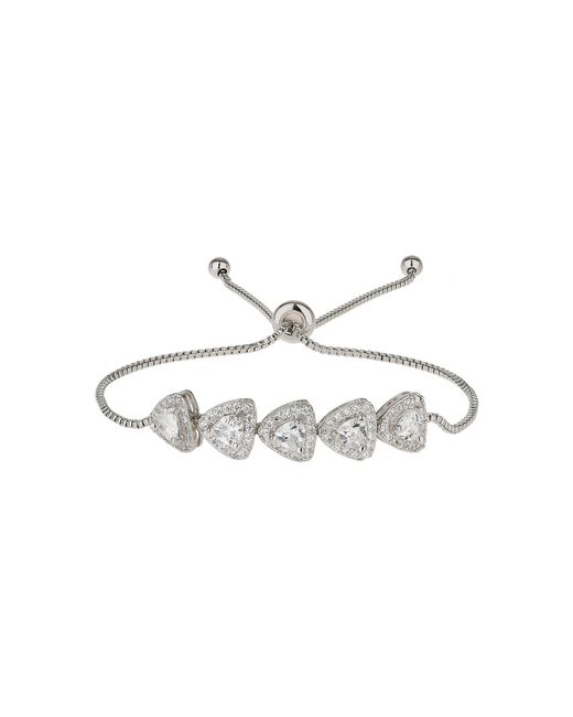 Mikey | White Heart Cubic Spike Beads Tie Up Bracelet | Lyst
