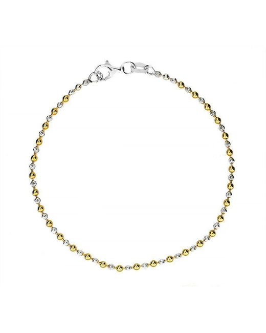 Azendi - Metallic Sterling Silver Yellow Bracelet - Lyst