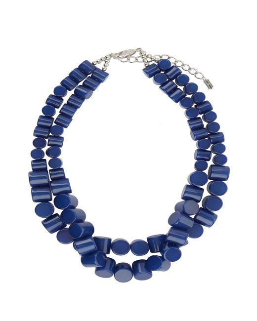 Hobbs - Blue Liza Necklace - Lyst