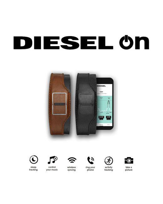 DIESEL | Black Dxa1202 Unisex Bracelet Smart Watch for Men | Lyst
