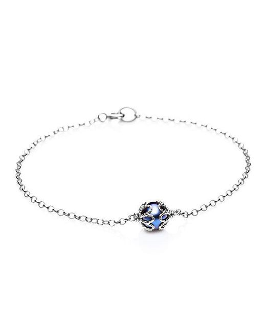 Jersey Pearl | Metallic Emma Kate Black Pearl Filigree Bracelet | Lyst