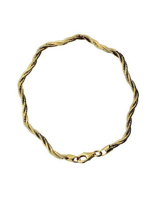 Azendi | Metallic 3 Strand Gold Vermeil Bracelet | Lyst