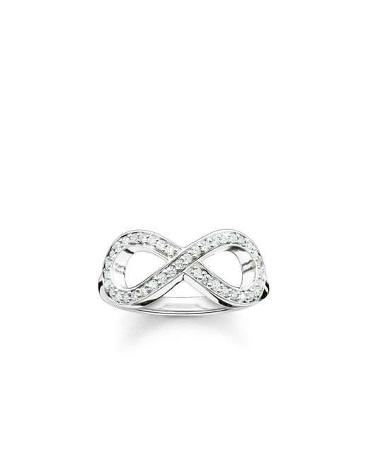 Thomas Sabo - Metallic Glam & Soul Infinity Ring - Lyst