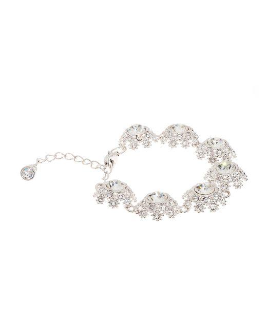 Ted Baker   Metallic T15810102 Crystal Daisy Lace Bracelet   Lyst