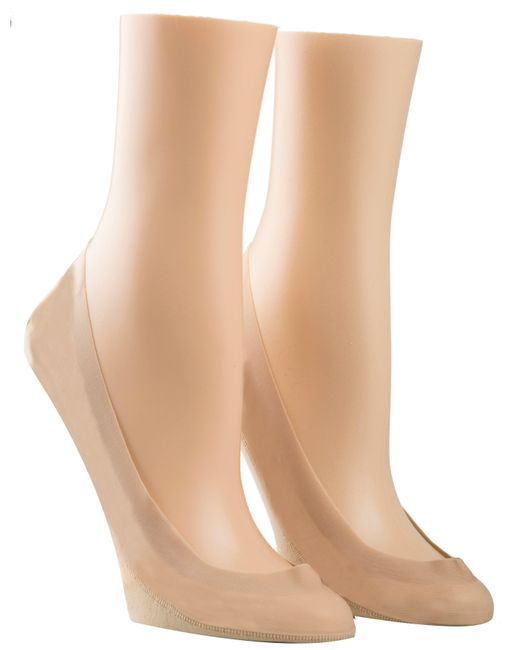 CALVIN KLEIN 205W39NYC - Black Laser Cut 2 Pair Pack Ballet Liners - Lyst