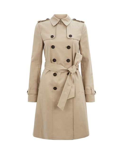 Hobbs - Brown Saskia Trench - Lyst