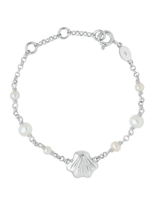 Links of London - Metallic Baby Shell Id Bracelet - Lyst