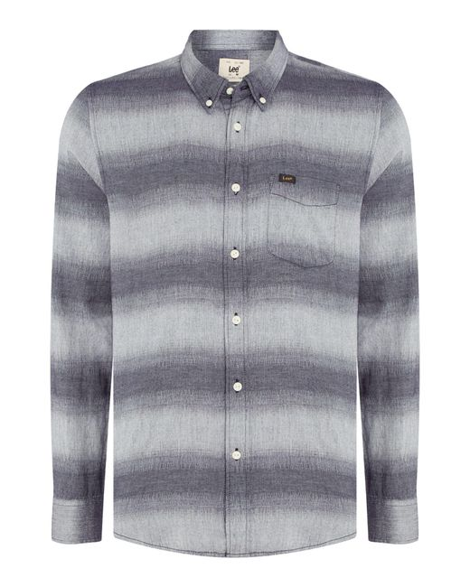 Lee Jeans - Gray Slate Button Down for Men - Lyst