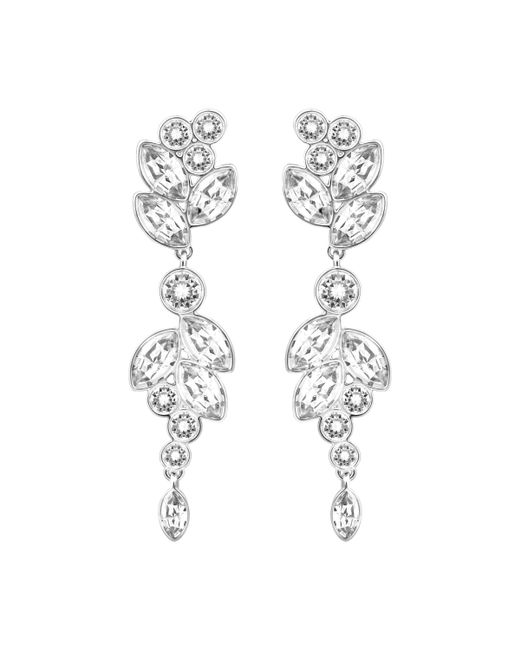 Swarovski - Metallic Diapason Pierced Earrings - Lyst