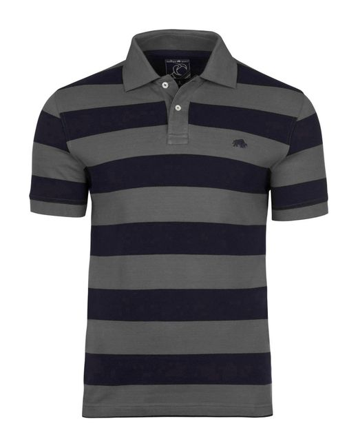 Raging Bull | Blue Men's Big And Tall Large Hoop Polo for Men | Lyst