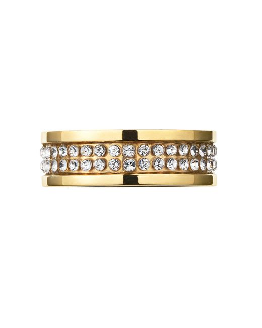 Dyrberg/Kern - Metallic Fratianne Shiny Gold Ring - Lyst