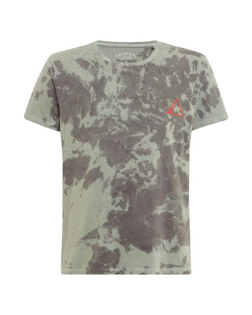 Criminal - Gray Men's Mountain Logo Graphic T Shirt for Men - Lyst