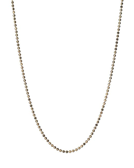 Links of London - Metallic Facetted Gold Ball Chain 41 - Lyst