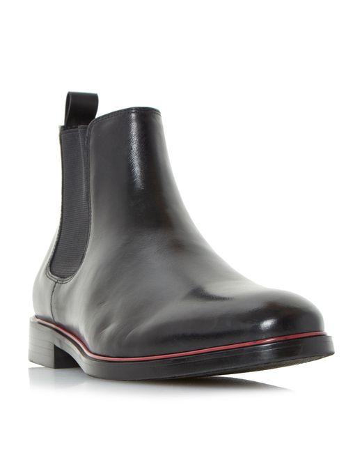 Dune - Black Mars Formal Chelsea Boots for Men - Lyst