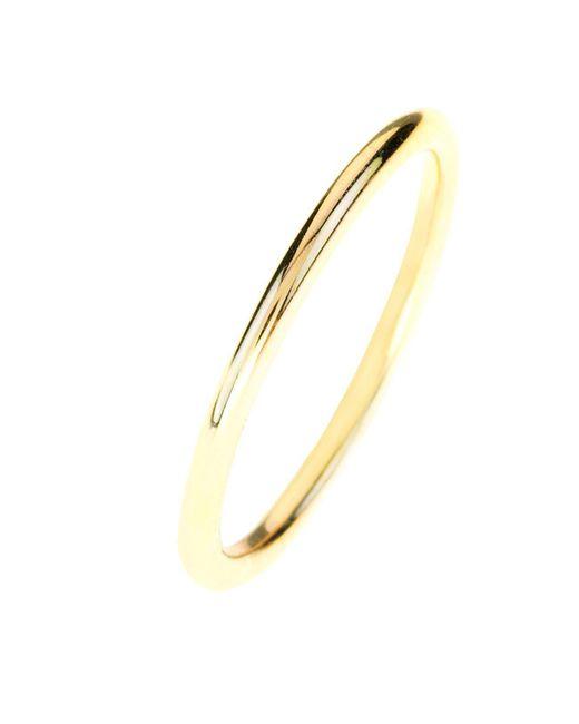 Latelita London | Metallic Halo Stacking Ring Gold | Lyst