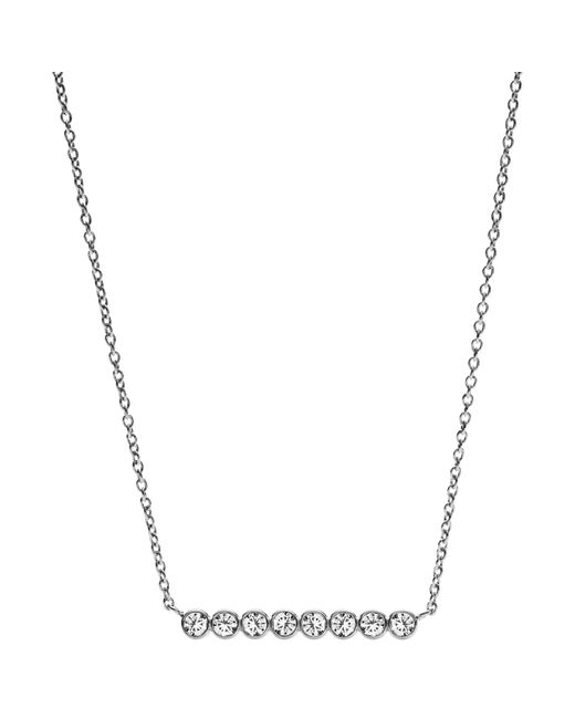 Fossil | Metallic Jf02589040 Ladies Necklace | Lyst
