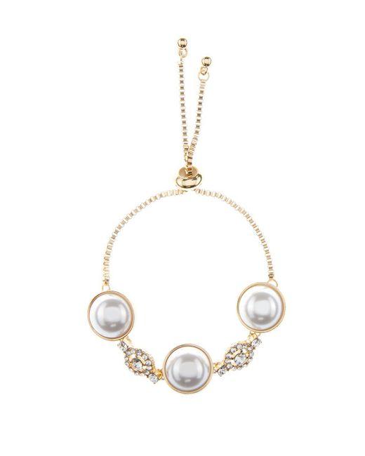 Coast - White Lulu Pearl Bracelet - Lyst