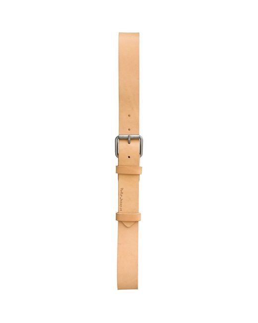 Nudie Jeans | Natural Leather Pedersson Belt | Lyst