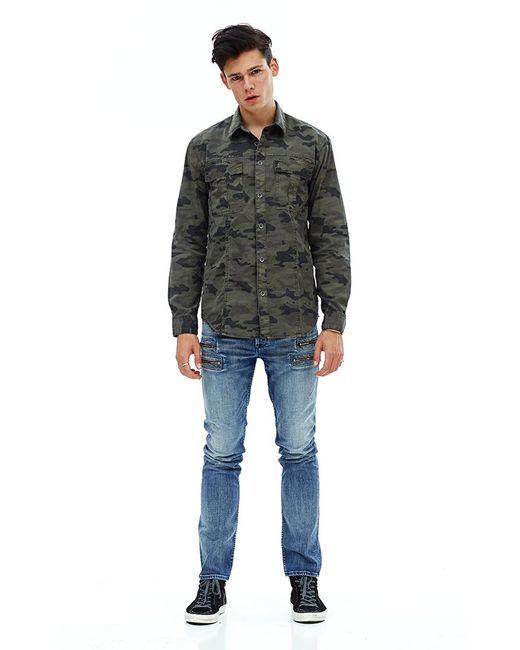 Hudson | Black Gage Military Jacket for Men | Lyst