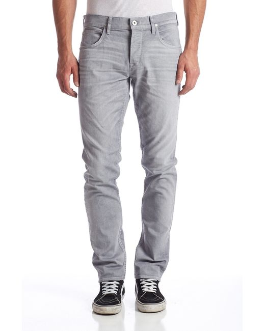 Hudson Jeans | Gray Sartor Slouchy Skinny Jeans for Men | Lyst