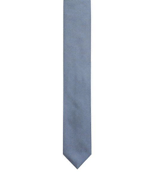 HUGO - Blue 7cm Tie In Silk Jacquard for Men - Lyst