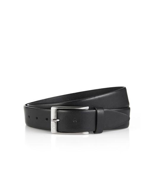 HUGO | Black Leather Belt 'c-eberio' for Men | Lyst