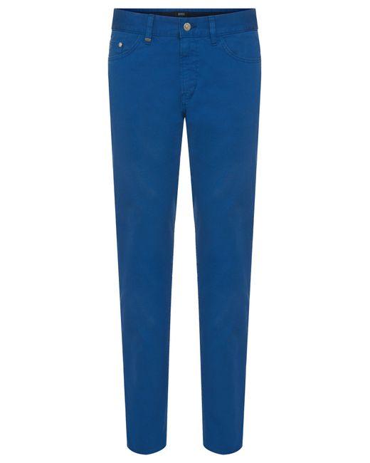 boss slim fit jeans in textured stretch cotton 39 delaware4. Black Bedroom Furniture Sets. Home Design Ideas