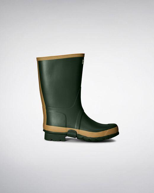 Hunter - Green Men's Gardener Wellington Boots for Men - Lyst