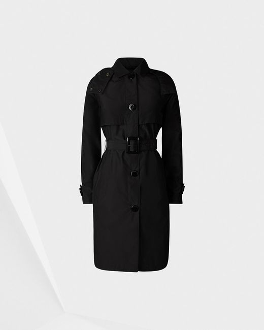 Hunter | Black Women's Original Refined Trench Coat | Lyst