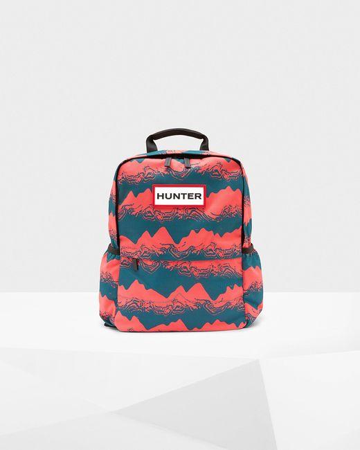 Hunter Multicolor Original Printed Nylon Backpack