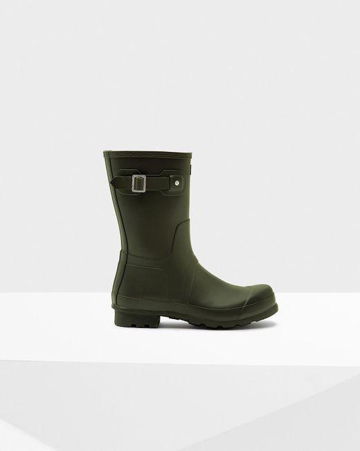Hunter | Green Men's Norris Field Side Adjustable Neoprene Lined Wellington Boots for Men | Lyst