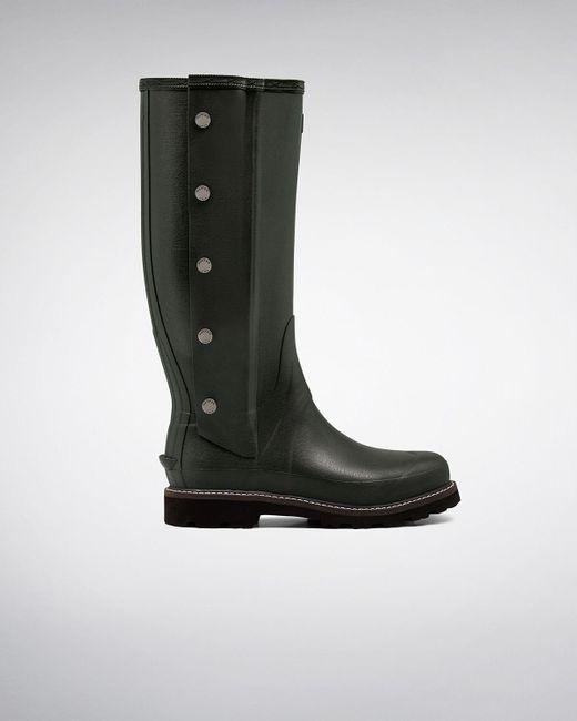 HUNTER   Brown Men's Balmoral Side Zip Boots for Men   Lyst