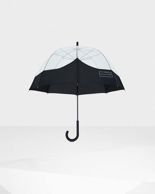 Hunter | Black Original Moustache Bubble Umbrella | Lyst