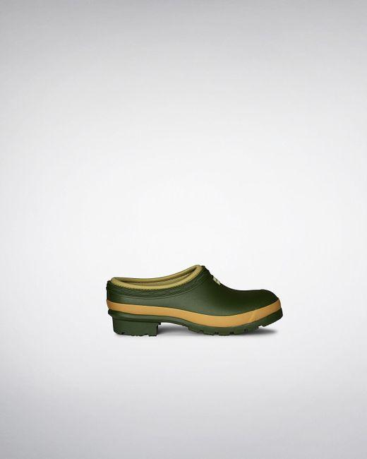 HUNTER | Green Gardener Clogs | Lyst