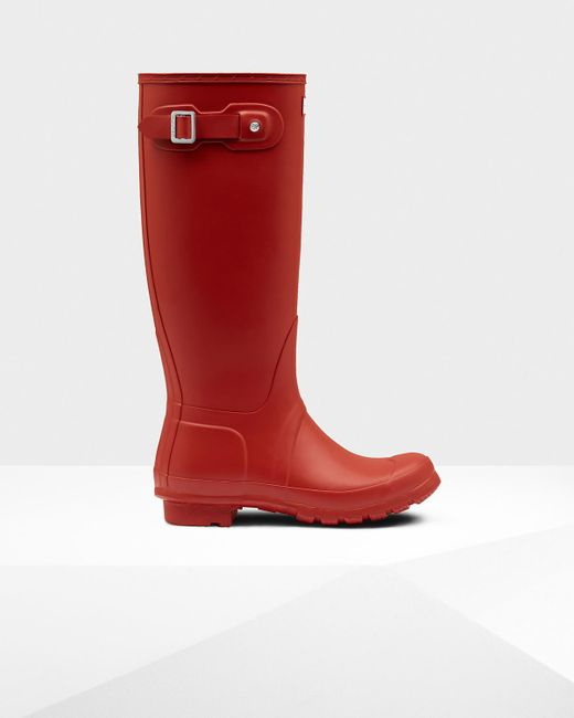 Hunter | Red Wellies | Lyst