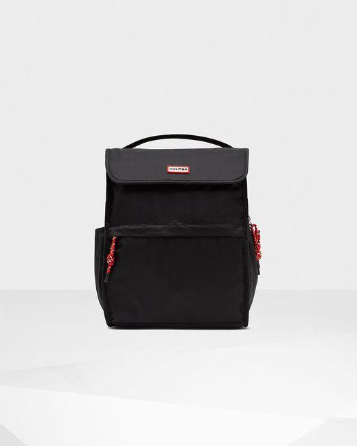 Hunter Black Original Packable Backpack