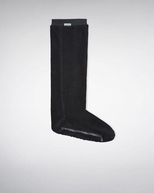 Hunter - Black Unisex Field Fitted Boot Socks - Tall - Lyst