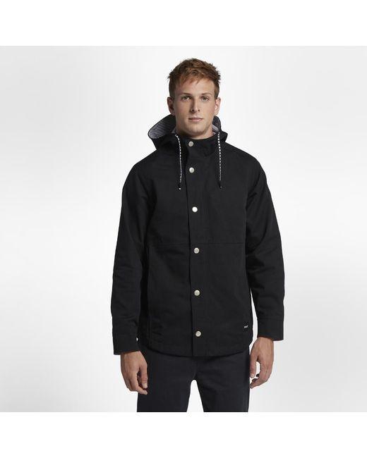 c7229647c2f Lyst - Hurley Mac A-frame Jacket in Black for Men