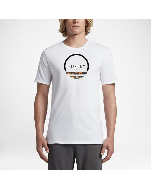 Hurley | White Olas T-shirt for Men | Lyst