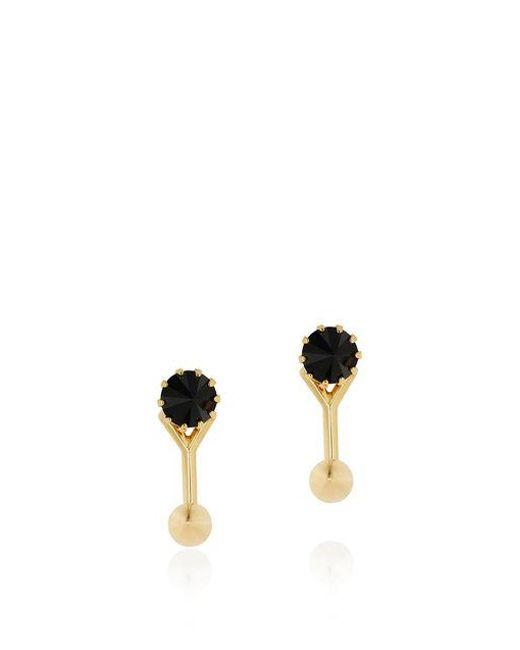 Joomi Lim - Metallic Love Thorn Crystal Floating Spike Stud Earrings - Lyst