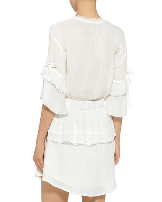 Cheap Recommend Cecile Ruffle Mini Dress White Iro Footlocker Finishline Cheap Online Clearance Popular Explore For Sale Amazon Online cpwCeoU