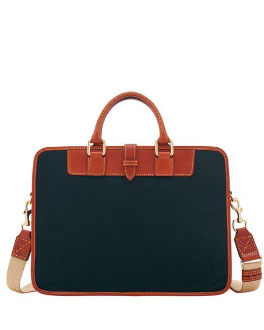 Dooney & Bourke - Black Nylon Brooklyn Briefcase - Lyst