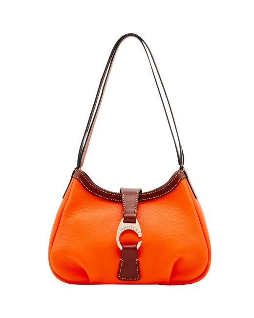 Dooney & Bourke - Red Derby Pebble Shoulder Bag - Lyst