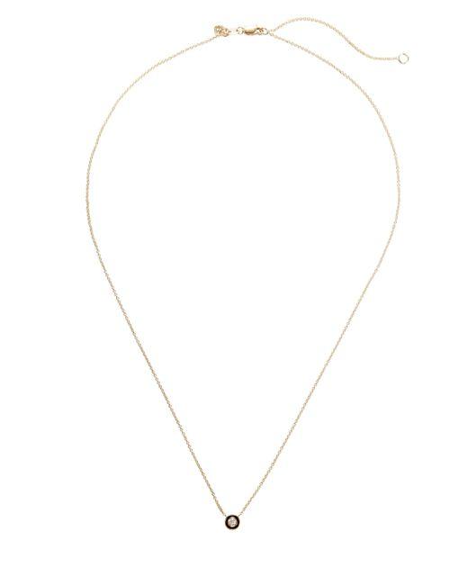 Sydney Evan - Metallic Single Stone Necklace - Lyst