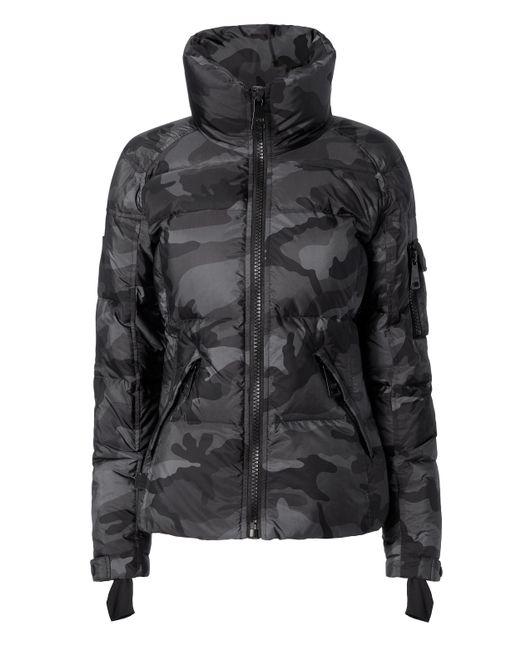 Sam. | Black Freestyle Camo Puffer Jacket | Lyst
