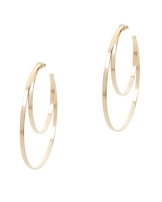 Jennifer Zeuner | Metallic Zuma Double Hoop Earrings | Lyst